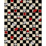 """Ткань для пэчворк (50x55см) 4801-405 из коллекции """"Games"""" """"Stof"""" (Дания)"""