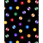 """Ткань для пэчворк (50x55см) 4801-407 из коллекции """"Games"""" """"Stof"""" (Дания)"""