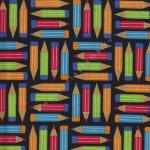 """Ткань для пэчворк (50x55см) 4801-415 из коллекции """"School"""" """"Stof"""" (Дания)"""