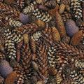 """Ткань для пэчворк (50x55см) 4801-427 из коллекции """"Nature"""" """"Stof"""" (Дания)"""