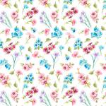 "Ткань для пэчворк (50x55см) 4801-818 из коллекции ""Butterfly"" ""Stof"" (Дания)"