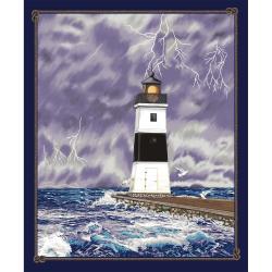 """Ткань для пэчворк (90x110см) 4805-017 из коллекции """"Lighthouse"""" """"Stof"""" (Дания)"""