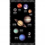 """Ткань для пэчворк (60x110см) 4805-018 из коллекции """"Planets"""" """"Stof"""" (Дания)"""