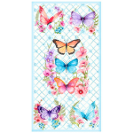 "Ткань для пэчворк (60x110см) 4805-044 из коллекции ""Butterfly"" ""Stof"" (Дания)"