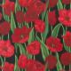"""Ткань для пэчворк (50x55см) 6600-091 из коллекции """"Tulips"""" """"Stof"""" (Дания)"""
