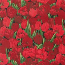 """Ткань для пэчворк (50x55см) 6600-092 из коллекции """"Tulips"""" """"Stof"""" (Дания)"""