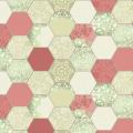 "Ткань для пэчворк (60x110см) 6700-003 ""Stof"" (Дания)"