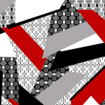 "Ткань для пэчворк (50x55см) 801-151 ""Stof"" (Дания)"