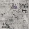 """Ткань для пэчворк (60x110см) 801-584 из коллекции """"Moda"""" """"Stof"""" (Дания)"""