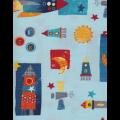 """Ткань для пэчворк (50x55см) 801-746 из коллекции """"Cosmos"""" """"Stof"""" (Дания)"""