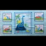 """Ткань для пэчворк (60x110см) 805-076 из коллекции """"Let the world hear you Roar!"""" """"Stof"""" (Дания)"""