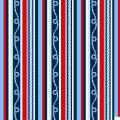 """Ткань для пэчворк (50x55см) 807-087 из коллекции """"Marine story"""" """"Stof"""" (Дания)"""