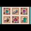 """Ткань для пэчворк (60x110см) 807-129 из коллекции """"Caffe Latte"""" """"Stof"""" (Дания)"""
