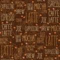 """Ткань для пэчворк (50x55см) 807-138 из коллекции """"Caffe Latte"""" """"Stof"""" (Дания)"""