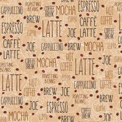 """Ткань для пэчворк (50x55см) 807-139 из коллекции """"Caffe Latte"""" """"Stof"""" (Дания)"""