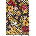 """Ткань для пэчворк 1222-6 из коллекции """"Блаженство цветущей улицы"""" """"Troy""""(США)"""