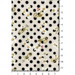 """Ткань для пэчворк 1223-1 из коллекции """"Блаженство цветущей улицы"""" """"Troy""""(США)"""
