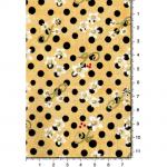 """Ткань для пэчворк 1223-3 из коллекции """"Блаженство цветущей улицы"""" """"Troy""""(США)"""
