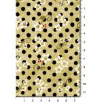 """Ткань для пэчворк 1223-4 из коллекции """"Блаженство цветущей улицы"""" """"Troy""""(США)"""