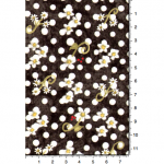 """Ткань для пэчворк 1223-6 из коллекции """"Блаженство цветущей улицы"""" """"Troy""""(США)"""
