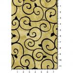 """Ткань для пэчворк 1224-4 из коллекции """"Блаженство цветущей улицы"""" """"Troy""""(США)"""
