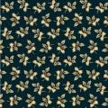 "Ткань для пэчворк (50x55см) 26536DKBLU из коллекции ""Rising Sun Medallion"" ""Washington Street Studio"" (США)"