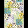 "Ткань для пэчворк (60x110см) 26670MUL из коллекции ""Serenity"" ""Washington Street Studio"" (США)"