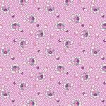 """Ткань для пэчворк (50x55см) 26643PUR из коллекции """"Vintage 30s florals"""" """"Washington Street Studio"""" (США)"""