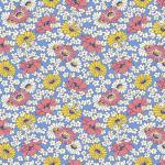 """Ткань для пэчворк (50x55см) 26644BLU из коллекции """"Vintage 30s florals"""" """"Washington Street Studio"""" (США)"""