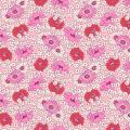 "Ткань для пэчворк (50x55см) 26644PIN из коллекции ""Vintage 30s florals"" ""Washington Street Studio"" (США)"
