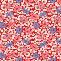 """Ткань для пэчворк (50x55см) 26644RED из коллекции """"Vintage 30s florals"""" """"Washington Street Studio"""" (США)"""