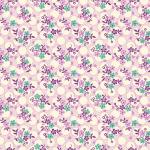 """Ткань для пэчворк (50x55см) 26647PUR из коллекции """"Vintage 30s florals"""" """"Washington Street Studio"""" (США)"""