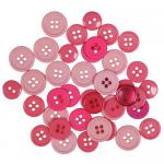 """Пуговицы """"Ассорти розовые"""" 130шт. """"Button Fashion"""" (Голландия)"""