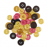 "Пуговицы ""Ассорти цвета мечты"" 130шт. ""Button Fashion"" (Голландия)"