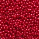 """Бусины пластиковые красные d=3мм """"Colibry"""""""