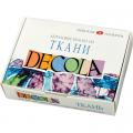 """Набор красок по ткани 12 цв. """"Decola"""""""