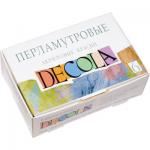 """Набор акриловые перламутровые краски 6 цв. """"Decola"""""""