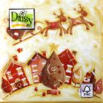"""Салфетка для декупажа """"Дед Мороз в пути"""" 33х33 см """"Daisy"""""""