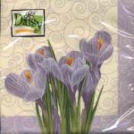 "Салфетка для декупажа ""Первый цветок"" 33х33 см ""Daisy"""