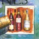 """Салфетка для декупажа """"Вино"""" 33х33 см """"Maki"""""""