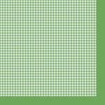"Салфетка для декупажа ""Зеленая клетка"" 33х33 см ""Maki"""
