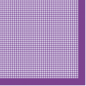 "Салфетка для декупажа ""Фиолетовая клетка"" 33х33 см ""Maki"""
