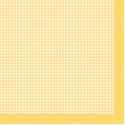 "Салфетка для декупажа ""Желтая клетка"" 33х33 см ""Maki"""