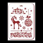 """Трафарет пластиковый многоразовый """"Волшебный конь"""" 31х22см """"Event Design"""""""