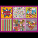 """Набор салфеток для декупажа """"Жить и наслаждаться"""" 12шт. 33х33 см """"Love2art"""""""