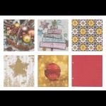 """Набор салфеток для декупажа """"Новогоднее настроение"""" 12шт. 33х33 см """"Love2art"""""""