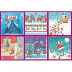 """Набор салфеток для декупажа """"Рождественские подарки"""" 12шт. 33х33 см """"Love2art"""""""