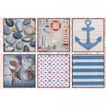 "Набор салфеток для декупажа ""Морские сувениры"" 12шт. 33х33 см ""Love2art"""