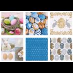 """Набор салфеток для декупажа """"Пасхальные яйца"""" 12шт. 33х33 см """"Love2art"""""""