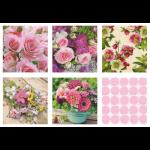 """Набор салфеток для декупажа """"Море цветов"""" 12шт. 33х33 см """"Love2art"""""""